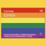 Correos crea su primer sello LGTBI