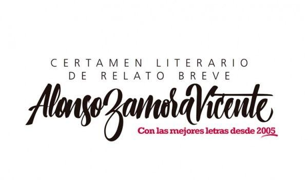 XII Certamen Literario de Relato Breve Alonso Zamora Vicente