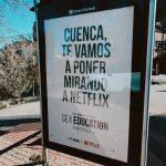 «Cuenca, te vamos a poner mirando a Netflix», la divertida promoción de la segunda temporada de «Sex Education»