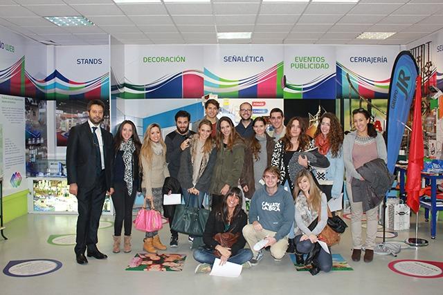 Visita organizada de la Universidad Nebrija a Trigraphis