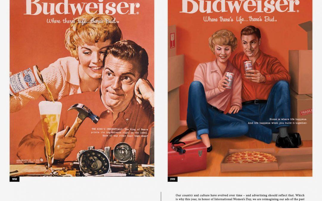 Budweiser corrige sus anuncios sexistas de los años 50