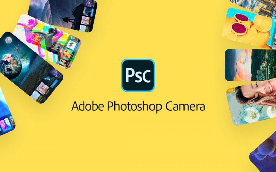 Así es Photoshop Camera, la aplicación que permite editar fotos antes de hacerlas