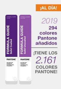 nuevos colores pantone