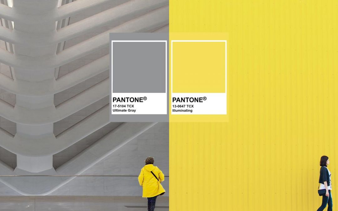 «Ultimate Gray» y  «Yellow Illuminating» los colores que nos acompañarán en 2021